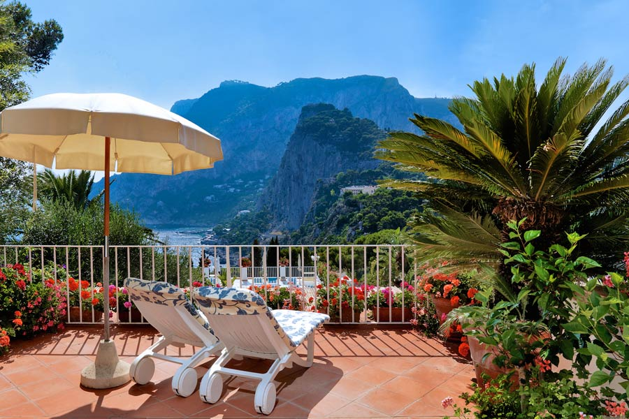 Best Sea View Hotels In Capri Italy