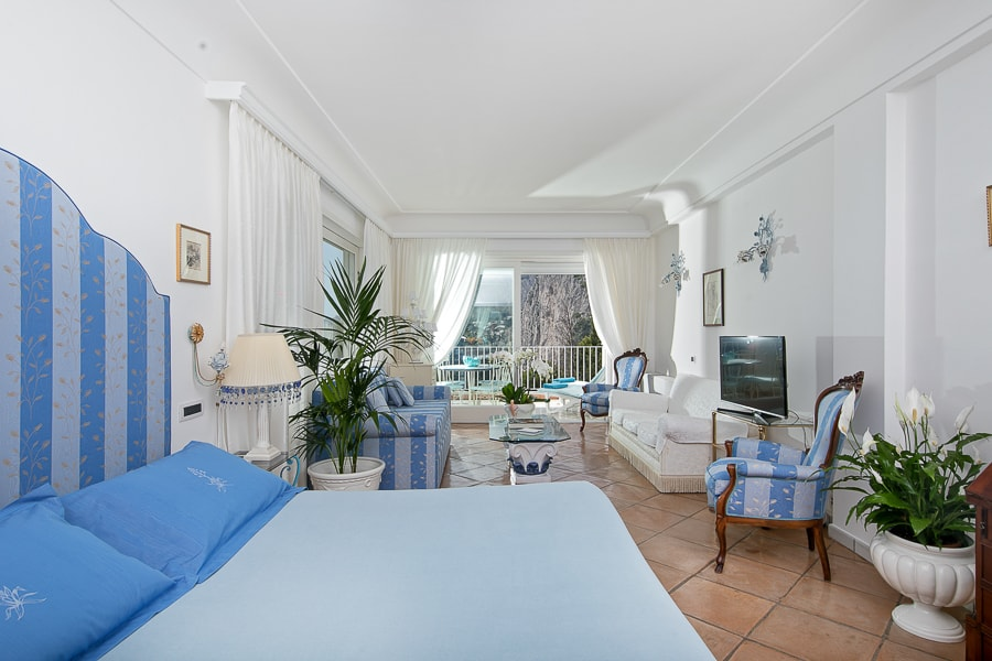 Hotel With A Sea View On Capri Villa Brunella