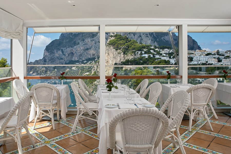 Restaurant On Capri Terrazza Brunella
